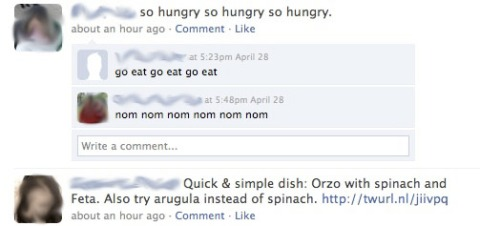 FB so hungry