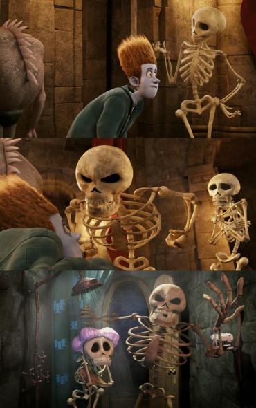Hotel Transylvania Skeleton