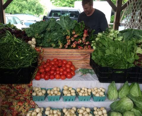 famers market produce